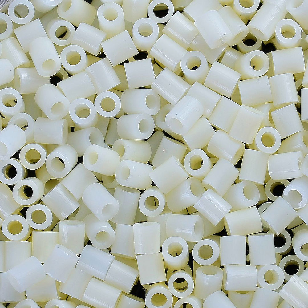 2,000 Eggshell Fuse Beads 5 x 5mm Iron Together Fusion Beads