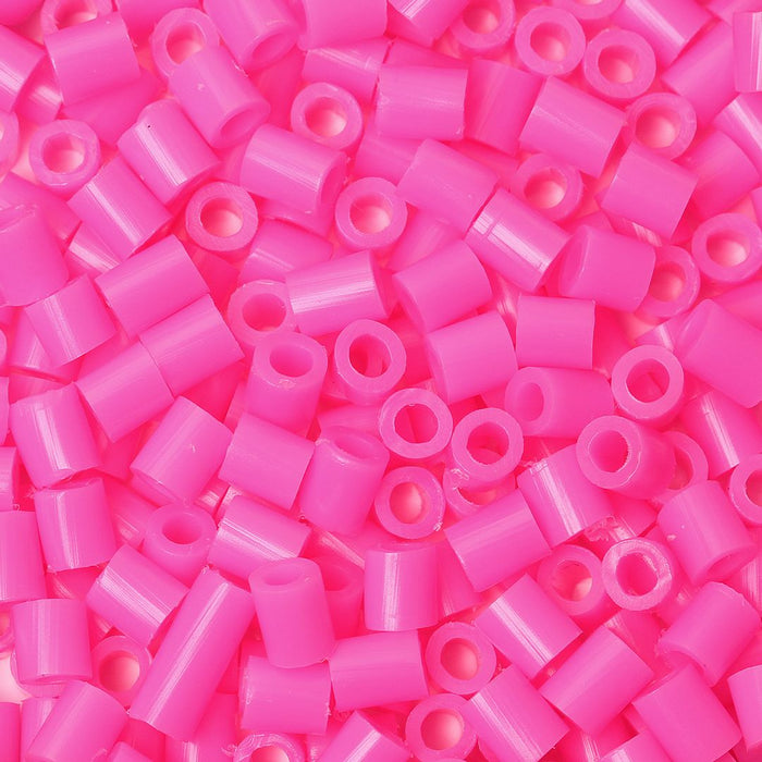 2,000 Hot Pink Fuse Beads 5 x 5mm Iron Together Fusion Beads