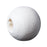 1,000 Painted White Round Wood Beads 8mm with 2mm Hole