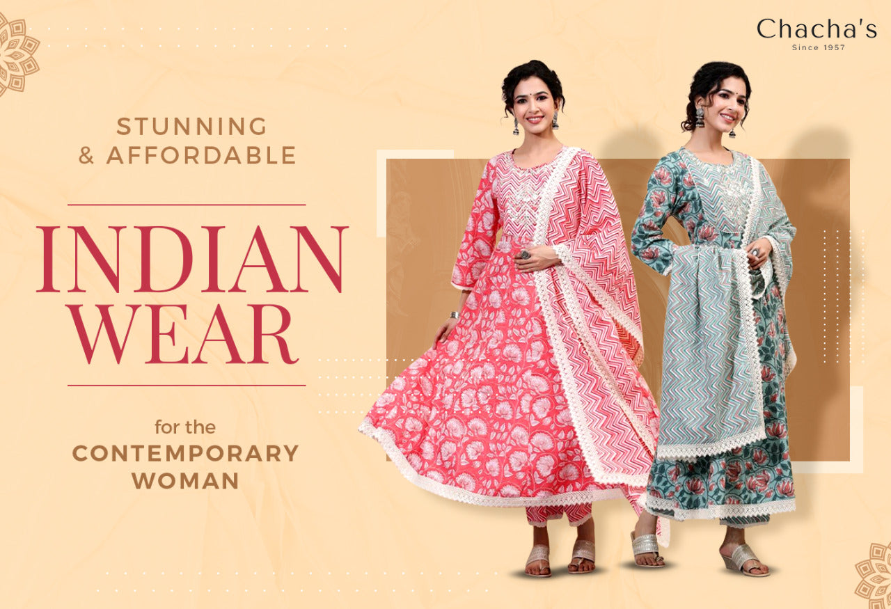 Chacha's - Indian ethnic wear since 1957.