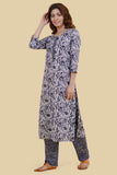 Chacha's 21331 printed cotton kurta set