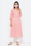 Chacha's 101797 printed cotton kurta set