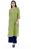 Chacha's 12013 printed cotton kurta