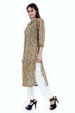 Chacha's 12016 printed cotton kurta
