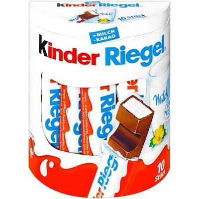 Kinder Riegel 10er Pack - Alkoline