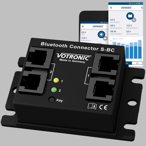 VOTRONIC Bluetooth Connector S-BC inkl. Energy Monitor App