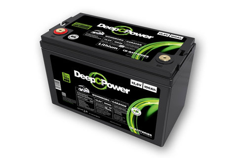 CS-Batteries Lithium LiFePO4 Caravan / Wohnmobil Batterie 12V / 100Ah