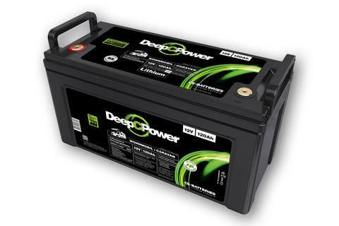 CS-Batteries Lithium LiFePO4 Caravan / Wohnmobil Batterie 12V / 120Ah