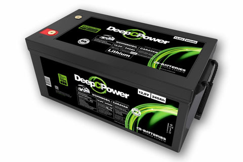 CS-Batteries Lithium LiFePO4 Caravan / Wohnmobil Batterie 12V / 240Ah