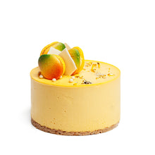 Load image into Gallery viewer, 24K Mango Cheesecake