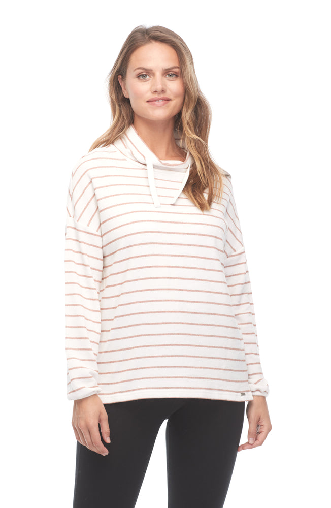 iMove Textured Stripe Sweater