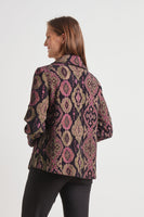 Chenille Tapestry Swing Coat