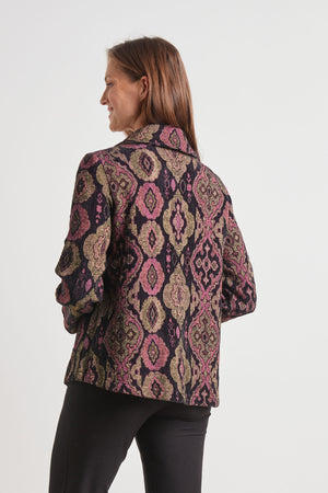 Load image into Gallery viewer, Chenille Tapestry Swing Coat