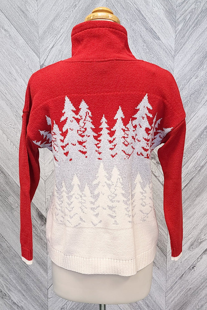 Snowy Trees Sweater