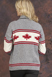 Canada High Neck Sweater
