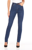 Light indigo supreme denim, Suzanne slim leg