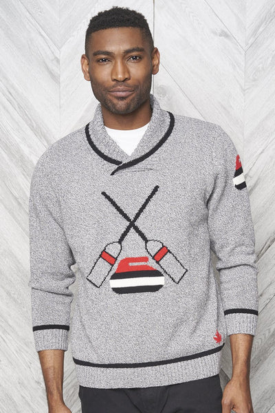 Mens Curling Sweater