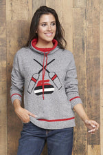 Womens Curling Sweater