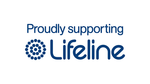 Logo reads 'proudly supporting Lifeline'