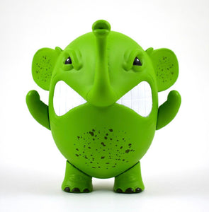 "Charlie The Angry Elephant ""Green"" By Angel Once"