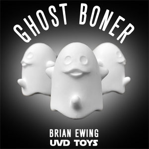 Ghost Boner Resin Art Toy By Brian Ewing