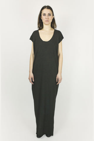 Chloe Maxi Dress - Matte Black
