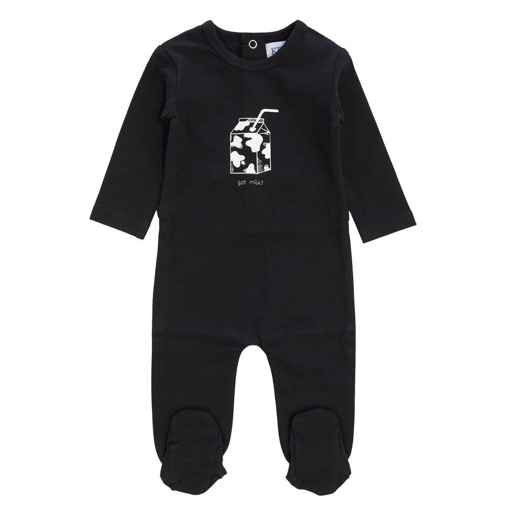Got Milk Romper - Black