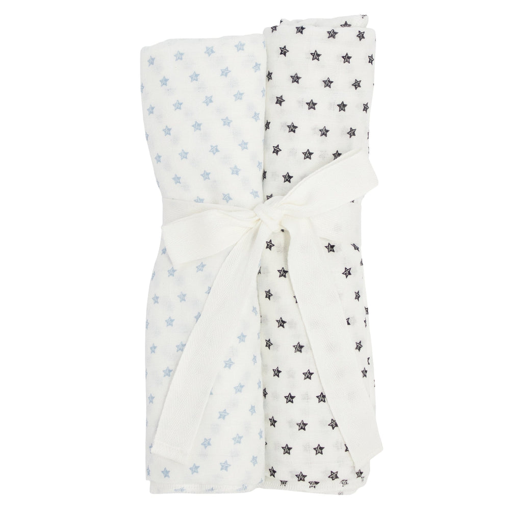 Star Swaddle Set - Blue
