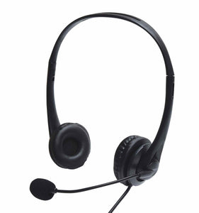 AV:LINK USB Multimedia Headset with Boom Microphone