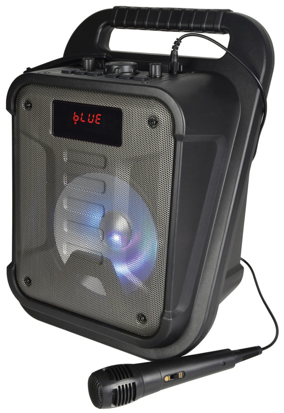 QTX Effect Aqua - 20W Splashproof Bluetooth Party Speaker