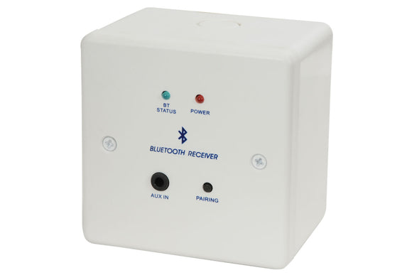 AV:LINK Bluetooth Receiver Wallplate and Backbox