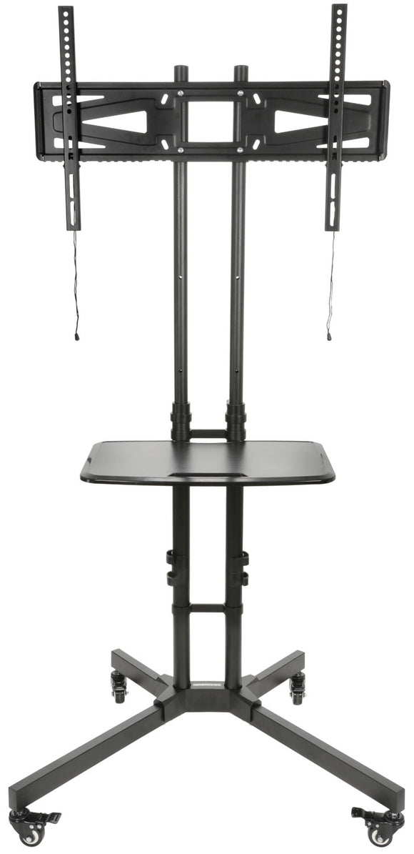 AV:LINK TSL600 - Freestanding Portable TV Trolley with Adjustable Shelf