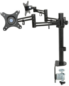 AV:LINK DM212 - Dual Monitor Desktop Mount with Extension Arms