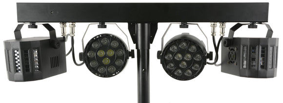 QTX DERBY FX BAR - LED Derby FX Bar with Stand