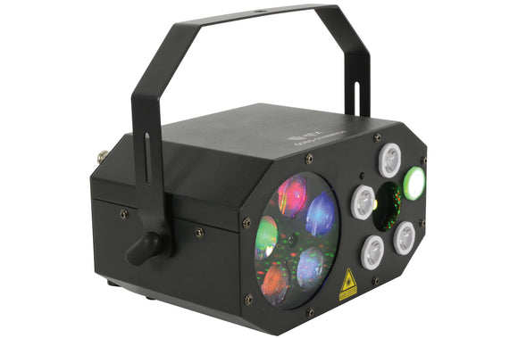 QTX Gobo Starwash - Wide Angle LED Multi Effect