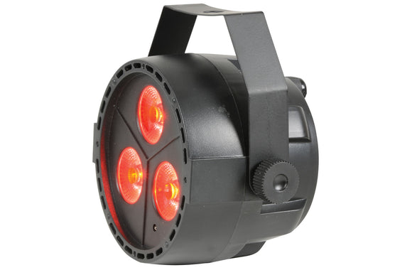 QTX PAR12 - RGBW DMX PAR Light 3 x 4W LED