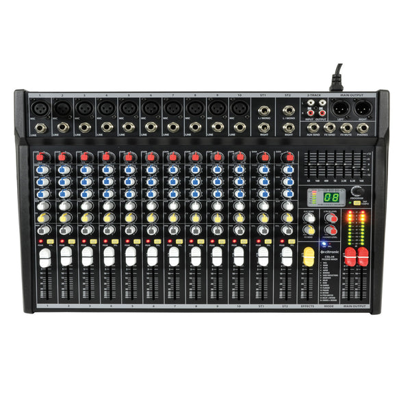 CSL-14 - 14 Channel Compact Mixing Console with DSP