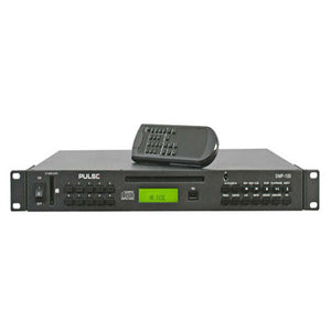 PULSE DMP-100 - 1U Rack Audio Media Player with CD / USB / SD Card Inputs
