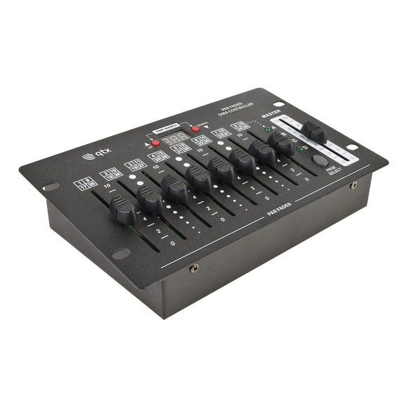 QTX Par Fader - Battery Powered 32ch DMX Lighting Controller