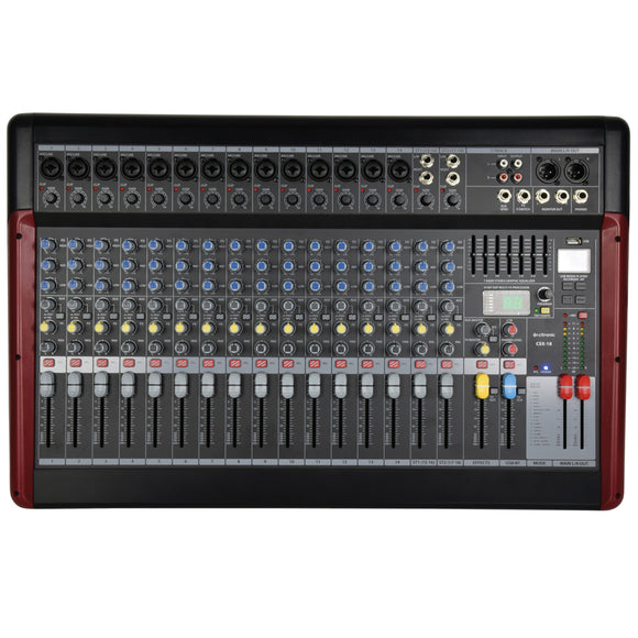 CITRONIC CSX-18 - Live Mixer with USB/BT Player + DSP Effects
