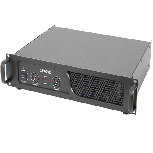 CITRONIC PPX900 - Power Amplifier, 2x 450W RMS - 2U