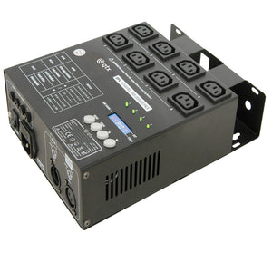 QTX DP4 - 4 Channel IEC DMX Dimmer Pack