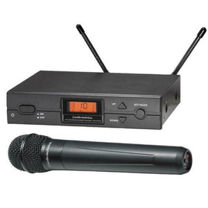 AUDIO-TECHNICA ATW-2120BU - Handheld Microphone System, Channel 38