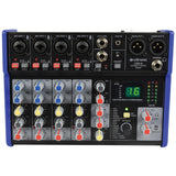 Citronic CSD-6 -  6 Channel Mixer with BT and DSP Effects