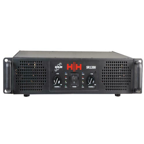 HH SCALAR SR1200 - 1200W Professional Power Amplifier