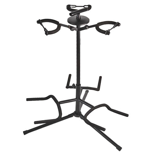 PULSE GST3 - Triple Tripod Guitar Stand with Neck Support