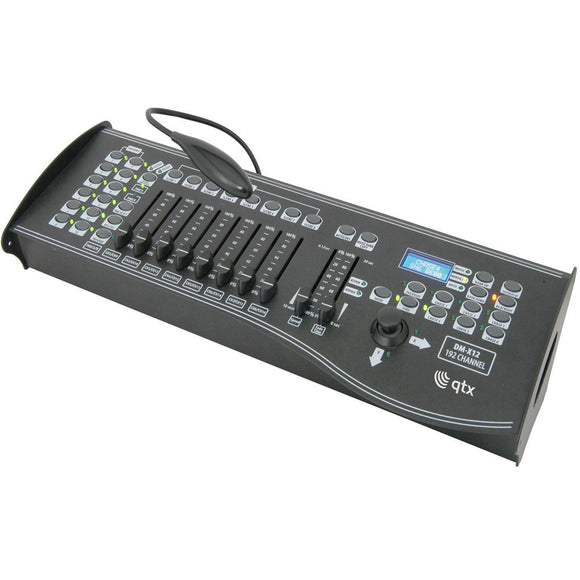QTX DM-X12 - 192 Channel DMX Controller with Joystick
