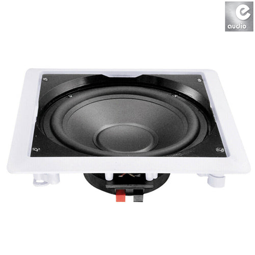 E-AUDIO B415 - In-Wall or Ceiling Subwoofer With 10