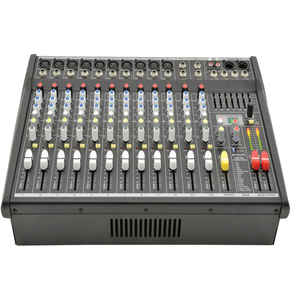 Citronic CSP-714 - 700W Compact Powered Mixer with DSP