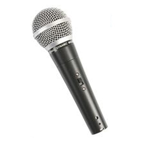 PULSE PM580S - Dynamic Vocal Handheld Microphone with Switch, Hypercardioid